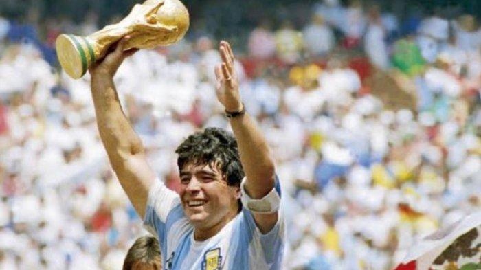 Diego Maradona Meninggal Dunia, Momen Ikonis Gol Tangan Tuhan dan Gol Terbaik Piala Dunia 1986