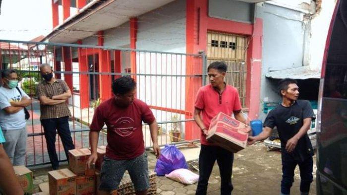 Warga Binaan Lapas Polewali Kirim Logistik untuk Korban Gempa di Rutan Mamuju