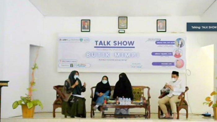 Kakanwil Kemenkumham Sulsel Buka Talk Show Butik Mimpi LPKA Maros