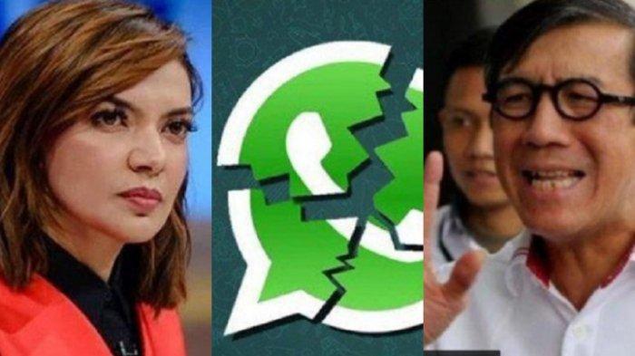 LENGKAP Percakapan WhatsApp Yasonna Laoly & Najwa Shihab Soal Pembebasan Napi Koruptor: Suudzon