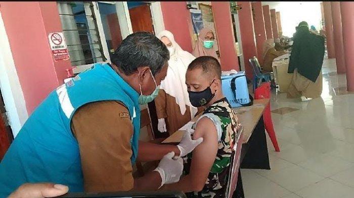 Hari Pertama, 35 Warga Jeneponto Ikuti Vaksin Tahap Kedua