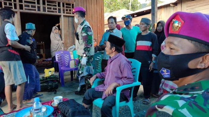 Aksi Kemanusiaan Danlanal Mamuju, Kopilot dan Dokter Marinir di Desa Terisolir Majene