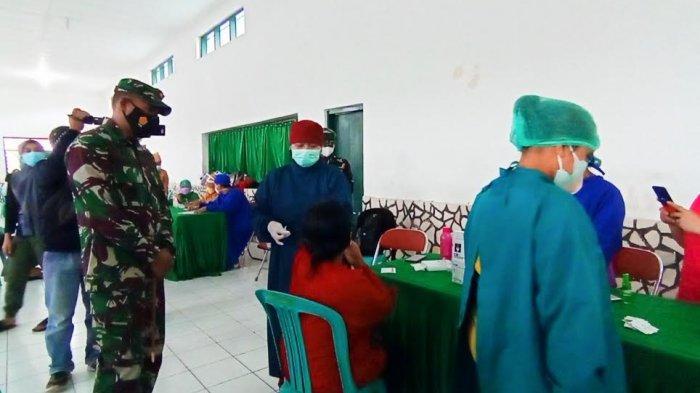 Hari Ini, Kodim 1414 Vaksin 1.250 Warga Tana Toraja