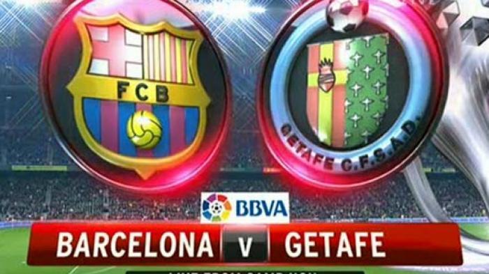 Nonton TV Online 3 LINK Live Streaming Liga Spanyol Barcelona vs Getafe - Nonton di HP Tanpa Buffer