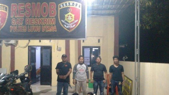 Lima Pemuda Tertangkap Basah Pesta Ballo di Sutem