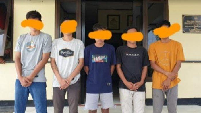 Lima Remaja Pelaku Pengeroyokan di Baras Pasangkayu Terancam 7 Tahun Penjara