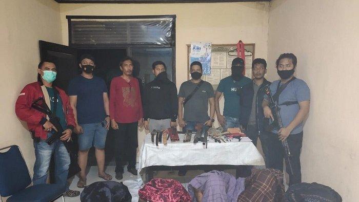 Miliki Senjata Api Rakitan untuk Menyerang, 5 Warga Desa Poreang Luwu Utara Ditangkap