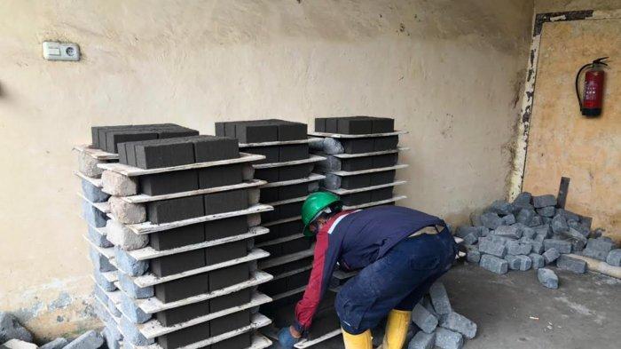 Manfaatkan FABA, Limbah PLTU Disulap Jadi Bahan Bangunan