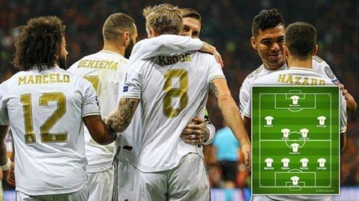Prediksi Susunan Pemain (Line Up) Real Madrid vs Getafe, Live Streaming BeIN SPORTS 1 Jam 03.00 Wib