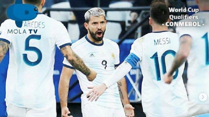 LINK Live Streaming Argentina Vs Ekuador Kualifikasi Piala Dunia 2022, Cara Nonton Live Mola TV