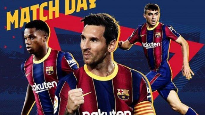BERLANGSUNG Barcelona vs Juventus di Liga Champions, Tonton Live Streaming SCTV & Vidio.com Gratis