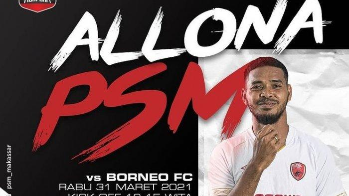 LINK LIVE STREAMING Borneo FC vsPSM Makassar & Persija Jakarta vsBhayangkara Solo: Live Indosiar