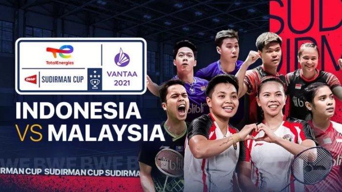 2 Link Live Streaming Indonesia vs Malaysia Piala Sudirman Siapa ke Semifinal? Nonton Tanpa Buffer