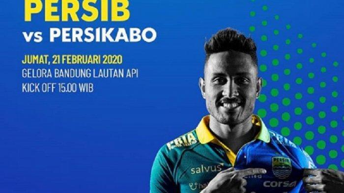 LINK Live Streaming Persib Bandung vs PS Tira Persikabo Laga Uji Coba via YouTube Gratis di Sini