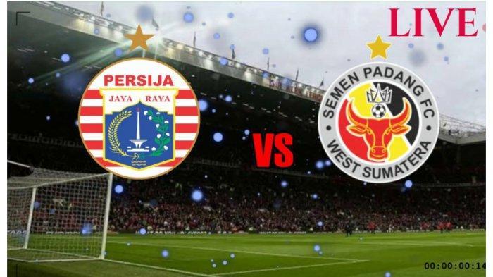 LINK Live Streaming Siaran Langsung Indosiar Persija Jakarta vs Semen Padang 16.30 di Vidio Premier
