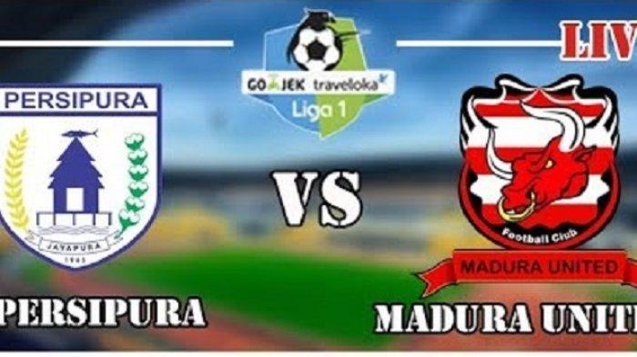SEDANG BERLANGSUNG LINK LIVE STREAMING OChannel, Vidio.com: Persipura Jayapura vs Madura United