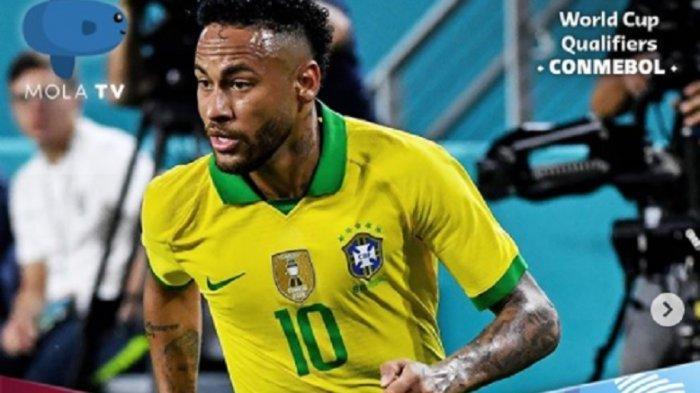 LINK Live Streaming Peru Vs Brazil Kualifikasi Piala Dunia 2022, Tonton TV Online Mola TV di Sini