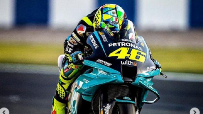 LINK Live Streaming Trans7 MotoGP Doha 2021: Jorge Martine Pole, Valentino Rossi Start ke-21