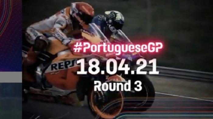 LINK Live Streaming Trans7 MotoGP Portugal 2021: Fabio Quartararo Start Terdepan, Rossi ke-17
