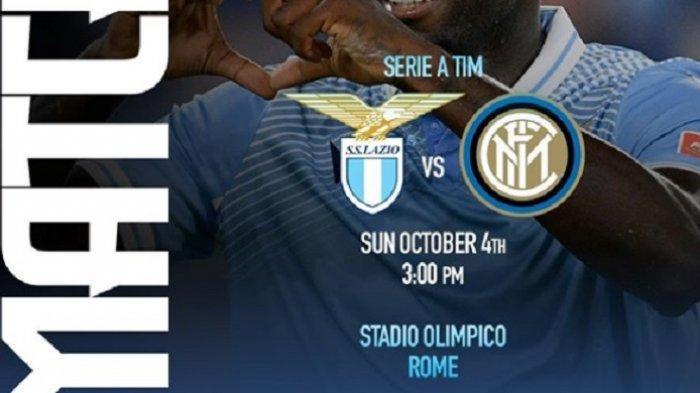 Link Live Streaming TV Online Lazio vs Inter Milan Pemenang Jadi Kandidat Serius Juara Serie A