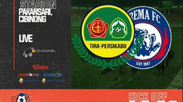 LINK Live Streaming TV Online OChannel, PS Tira Persikabo vs Arema FC, Tonton di HP Gratis
