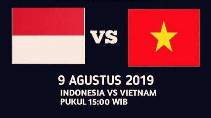 Link Live Streaming TV Online, SCTV Timnas U-15 Indonesia vs Vietnam Piala AFF U-15 2019