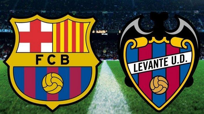 SEDANG BERLANGSUNG 3 LINK Live Streaming Liga Spanyol Levante vs Barcelona - Nonton Gratis TV Online