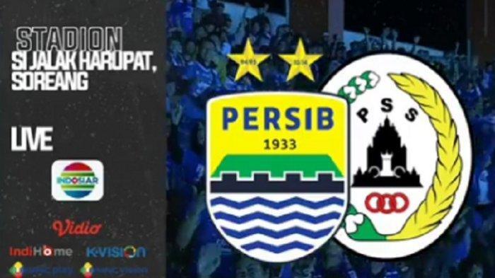 LINK Live Streaming TV Online Vidio.com Indosiar Persib vs PSS Sleman, Live Mulai Pukul 18.00 WIB