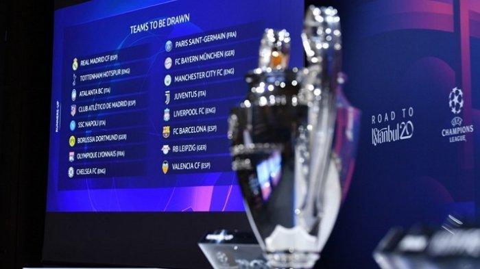 Babak 16 Besar Liga Champions - Kans Dortmund, PSG, Liverpool, Real Madrid, Man City, Spurs, Munchen