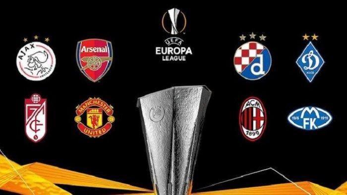 LINK Live Streaming Undian 16 Besar Liga Eropa: Arsenal, AC Minal, Manchester United dan Spurs