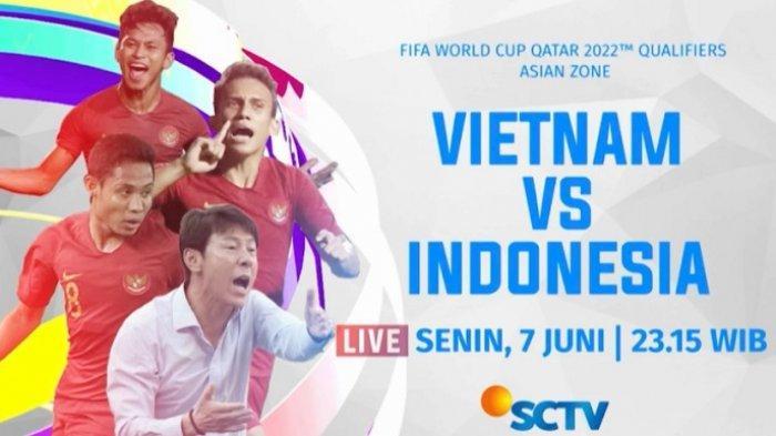 2 Link Live StreamingTimnasIndonesiavs Vietnam diMolaTVdanSCTV, Berikut Prediksi Line Up