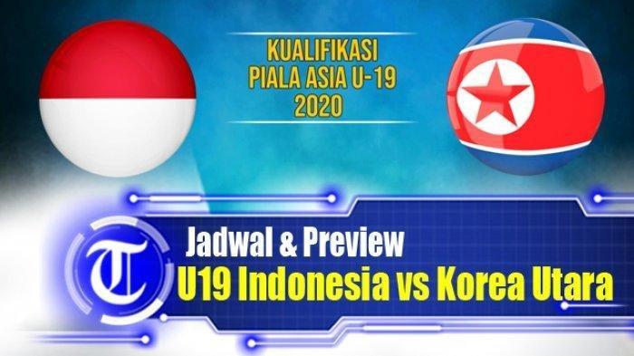 SKOR 0-0, Live Streaming TV Online RCTI Timnas Indonesia U-19 vs Korut, Tonton di HP Tanpa Buffer