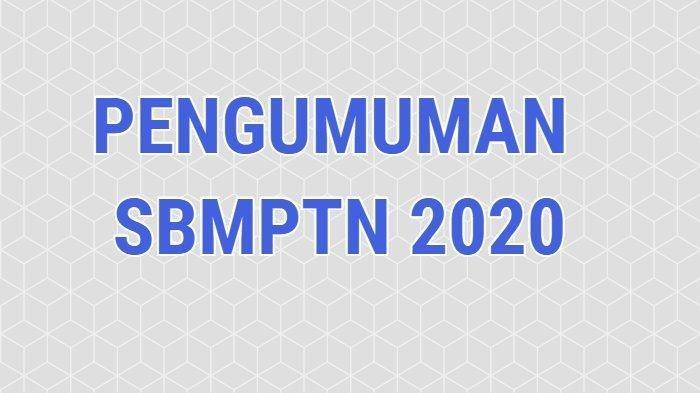 13 Link untuk Cek Hasil Pengumuman SBMPTN 2020 di pengumuman-sbmptn.ltmpt.ac.id