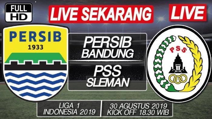 Babak II Berlangsung 3 Link Live Streaming TV Online Indosiar Persib vs PSS Sleman, Tonton via HP