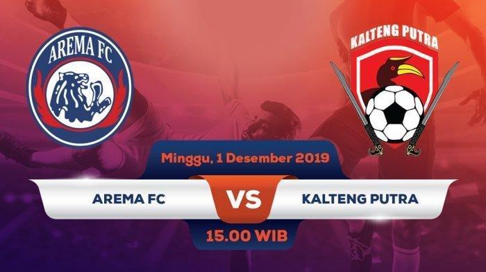 Nonton TV Online, 4 Link Live Streaming OChannel Arema FC vs Kalteng Putra Jam 15.30, Tonton di HP