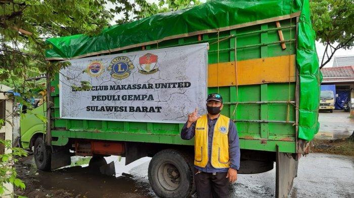 Lion Club Makassar United Siap Bagikan Sembako untuk Korban Gempa Sulbar
