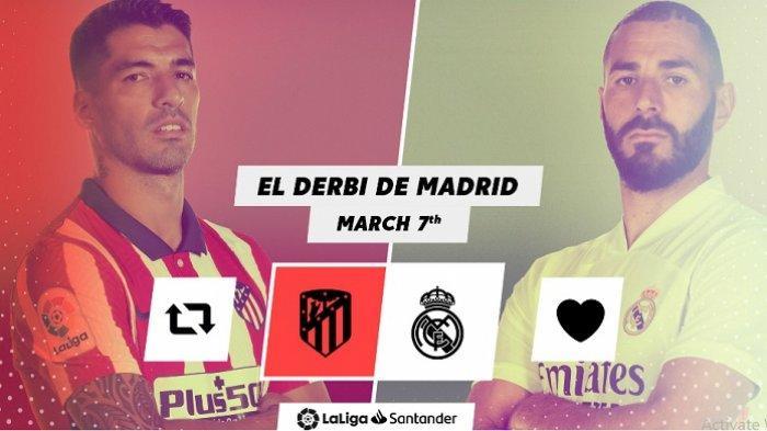 Jadwal Live Streaming Atletico Madrid vs Real Madrid, Karim Benzema On Fire, Suarez Sedang Ganas!