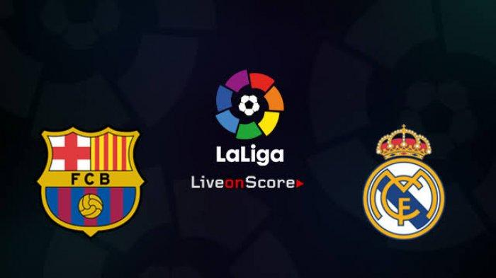 Live Streaming El Clasico Barcelona vs Real Madrid Liga Spanyol di beIN Sports 1, Vidio.com Premier