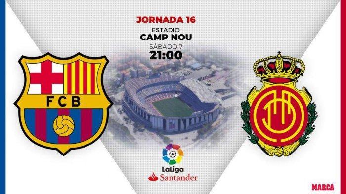 3 Link Live Streaming Nonton Online KoraTV, Barcelona vs Real Mallorca Liga Spanyol 2019 Cocok di HP