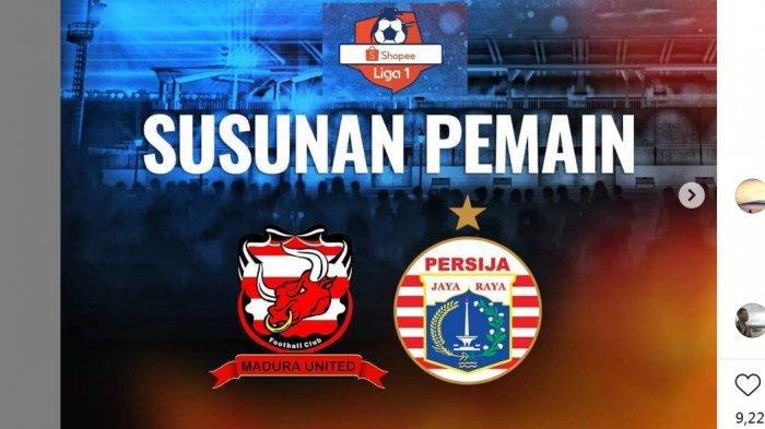 BERLANGSUNG SKOR 0-0 Link Live Streaming Madura United vs Persija, Debut Diego Assis Live Indosiar