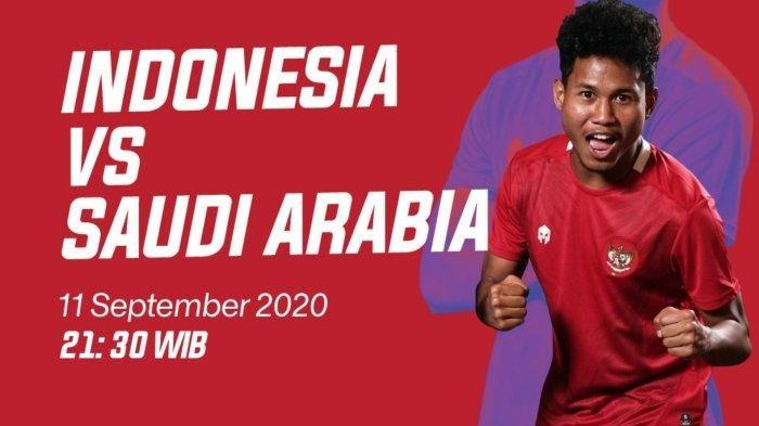 Skor 2-3, Nonton Live Streaming Mola TV NET TV Timnas U 19 Indonesia vs Arab Saudi di Babak II