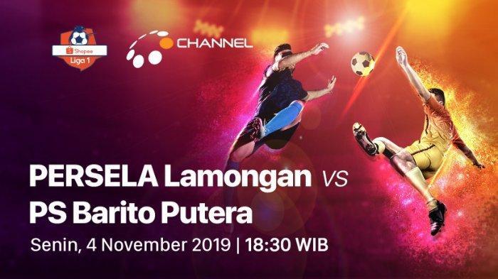 SEDANG TAYANG 4 Link Live Streaming Persela vs Barito Putera Liga 1 2019 - Nonton Live TV Online