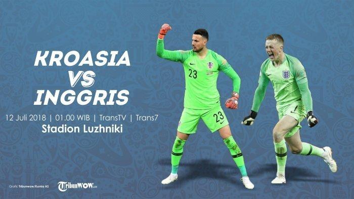 Live di Trans TV dan Live Streaming Piala Dunia Kroasia Vs Inggris, Tonton di HP Pakai Aplikasi