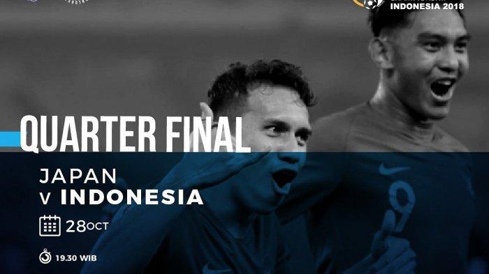 Live Metube RCTI di HP Tanpa Buffer Indonesia vs Jepang Skor Masih 0-0