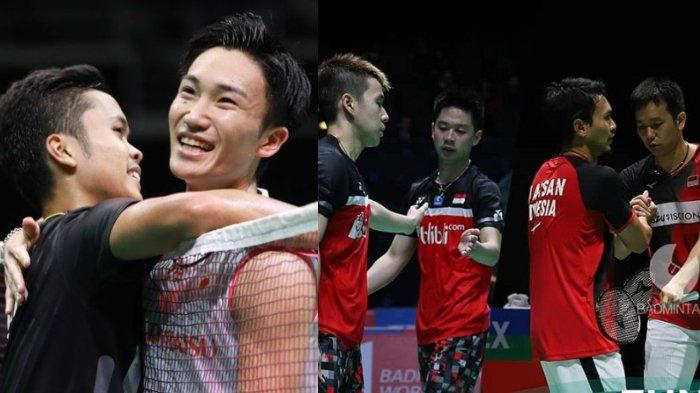LIVE Streaming TV Online TVRI Final China Open 2019, Ginting vs Momota, Ahsan/Hendra vs Marcus/Kevin