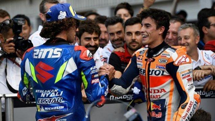 Live Trans7: Jadwal MotoGP 2019 Sirkuit Misano San Marino, Menanti Pertarungan Marquez & Alex Rins