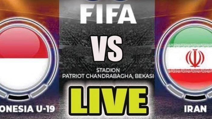 Siaran Langsung (Live) meTube.id RCTI Timnas Indonesia U19 vs Iran Jam 15.15, Nonton HP Tanpa Buffer