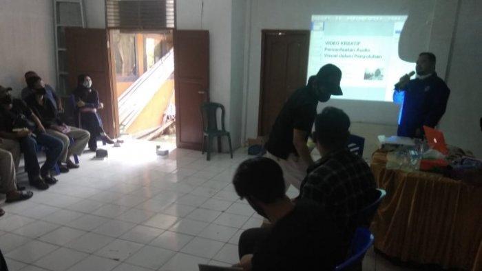 LKM Bira Koloborasi Universitas Teknologi Sulawesi Gelar Pelatihan Media Komunitas