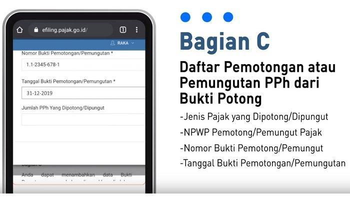 LOGIN DJP Online djponline.pajak.go.id Cara Lapor SPT Online e-Filing 1770 S Gaji di Atas Rp 60 Juta