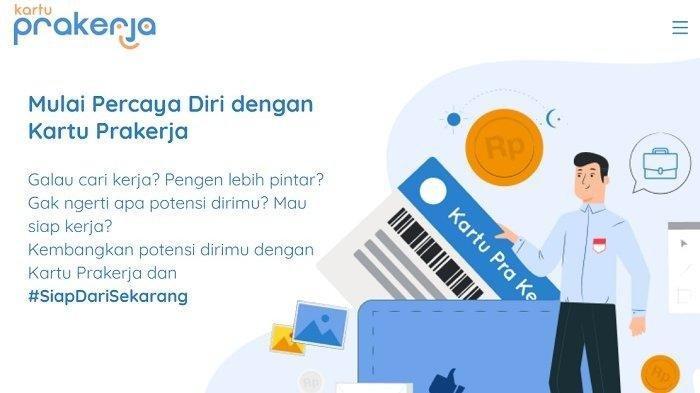 Login Www Prakerja Go Id Cara Daftar Kartu Pra Kerja Online Siapkan Data Diri Pastikan Email Aktif Tribun Timur